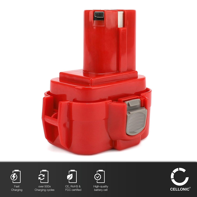 MTEC Akku Batterie für Makita 6207D 6207DWDE 6222D 6226D 9133 Battery 2,0Ah 9,6V