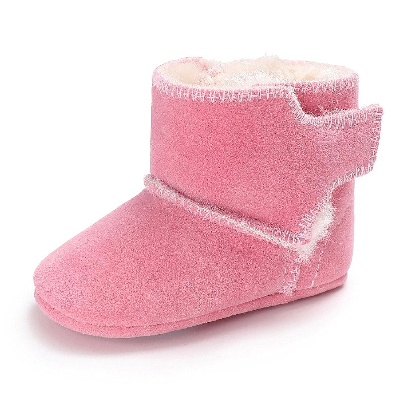Kukul Botas de Bebés Botines Solido de Algodón Comodo Suave Otoño invierno