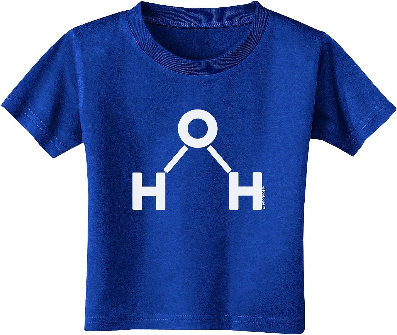 TooLoud Water Molecule Infant T-Shirt Dark