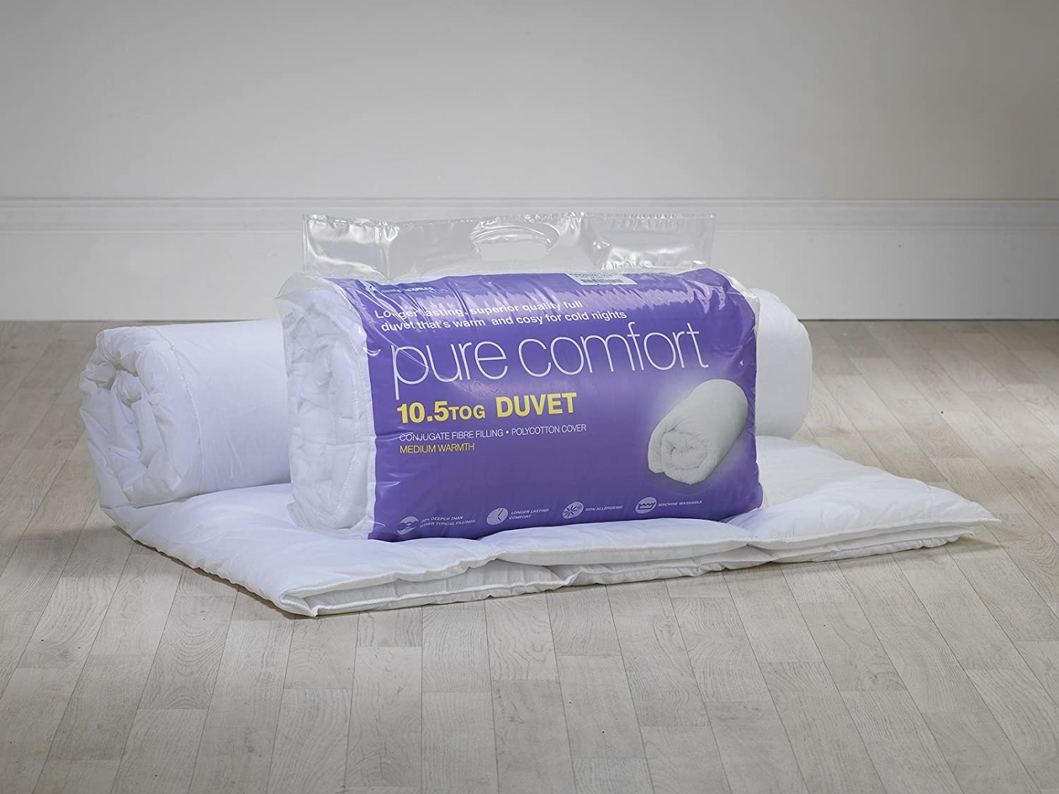 Lancashire Textiles DOUBLE Anti Allergy 10.5 Tog Duvets MADE IN UK