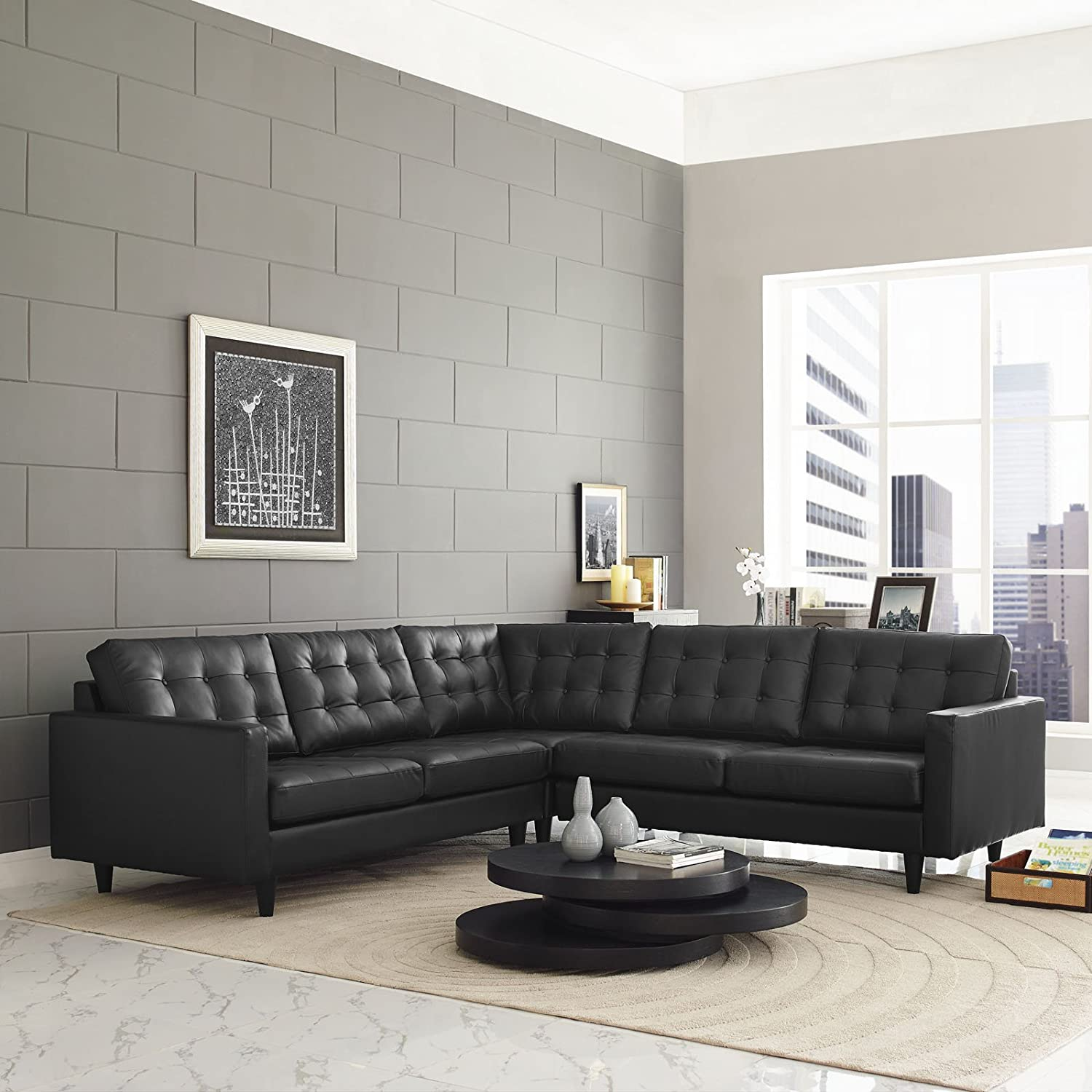 Inspirational Black Sectional sofa Inspirational – Tatsuyoru