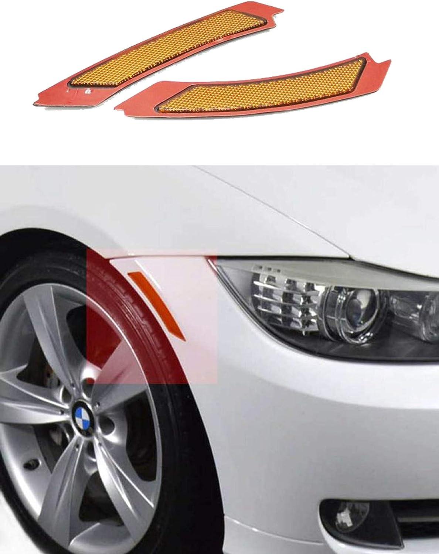 E91 LCI Smoke Len Front Bumper Fender Reflector Side Marker Lights Turn Signal Lamps for BMW 3 series E90