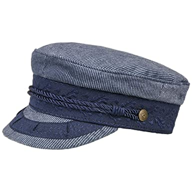140c18728b1 Amazon.com  Brixton Men s Albany Greek Fisherman Hat  Clothing