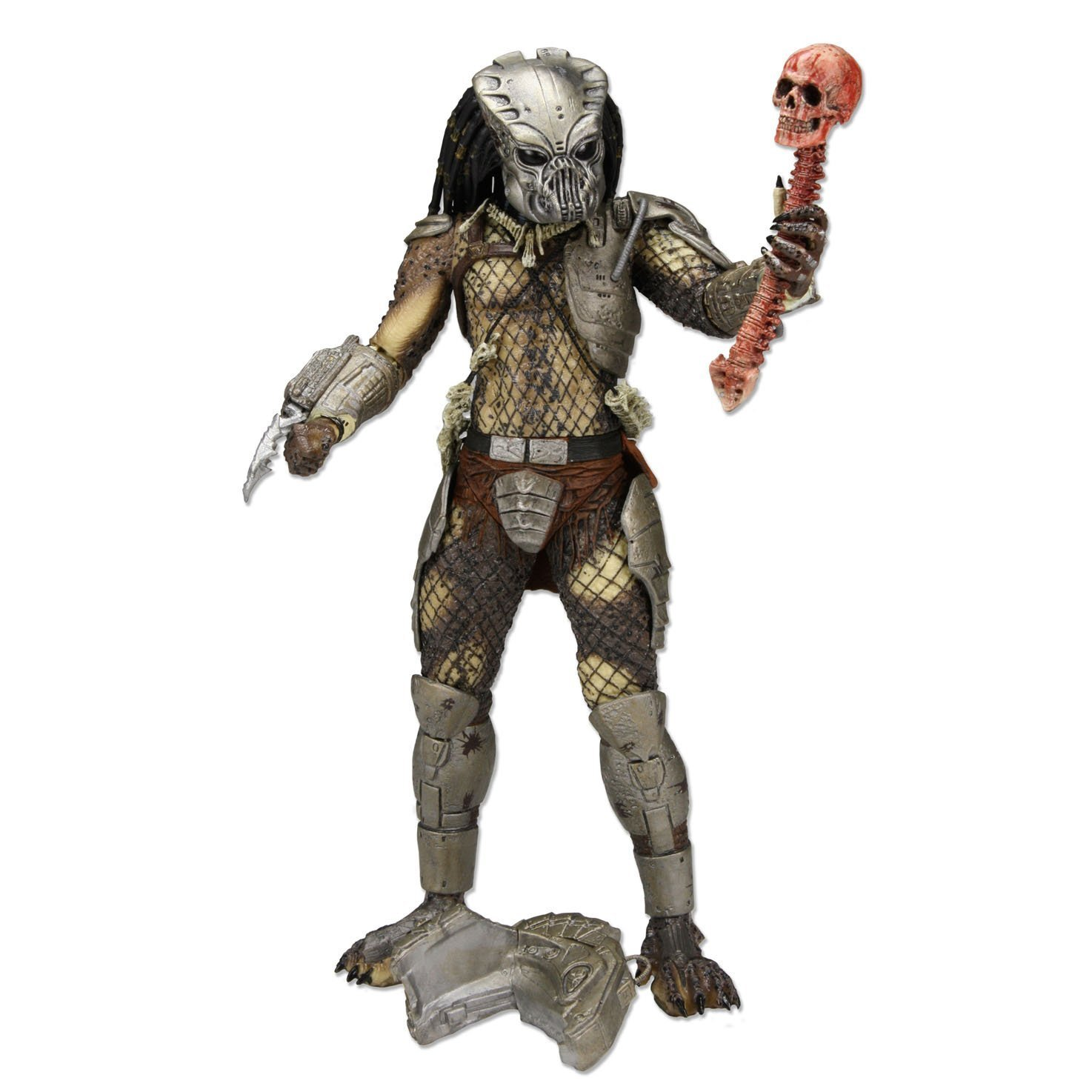 Classic predator action figure gort mask bloody skull spine trophy comic con exclusive amazon ca home kitchen
