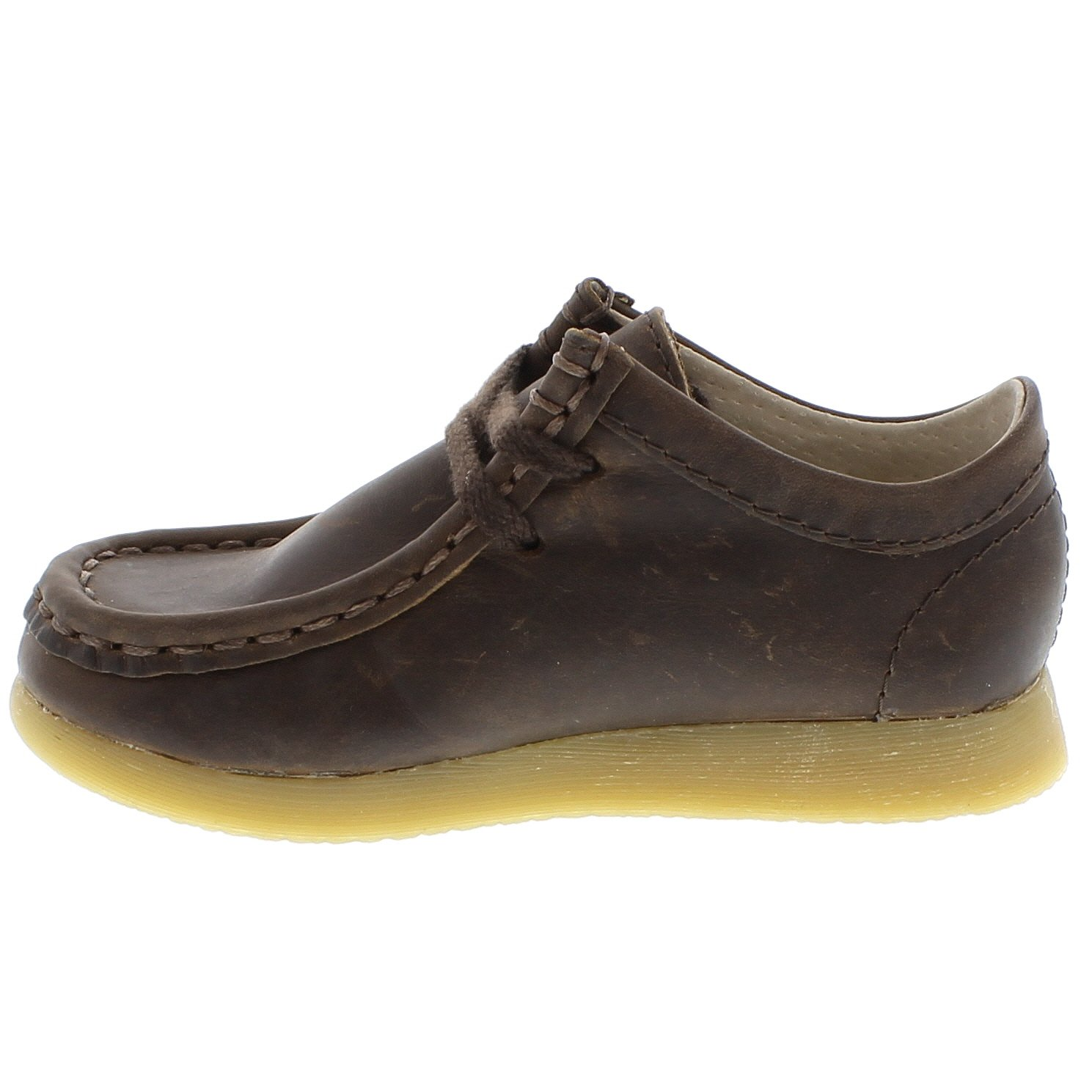 FOOTMATES Wally Low Wallabee Oxford Brown Oiled - 9125/12.5 Little Kid M/W by FOOTMATES (Image #6)