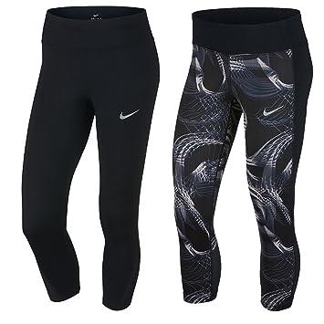 Nike Power Pantalon 3 4 Femme  Amazon.fr  Sports et Loisirs 25df0fe1220