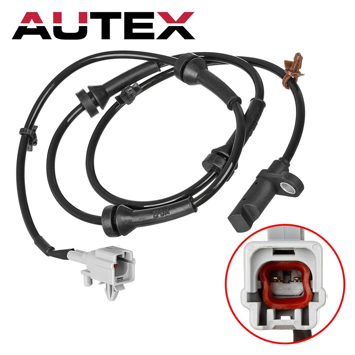 AUTEX ALS1814 ABS Wheel Speed Sensor Left//Right Rear compatible with Nissan Rogue 2008 2009 2010 2011 2012 2013 2.5L ONLY AWD