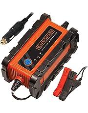 Black+Decker Mantenedor/Cargador de batería automático, Resistente al Agua, 6 Amp