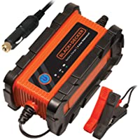 BLACK+DECKER Cargador de batería automático Impermeable/mantenedor, 6 Amp