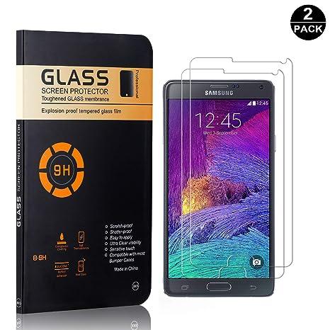 SONWO Protector Pantalla Galaxy Note 4, Protección Completa de la ...