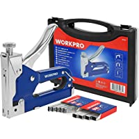 WORKPRO Grapadora y Clavadora Manual 3 en 1