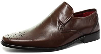 Ribble Mens Leather Formal/Smart Slip on Shoes
