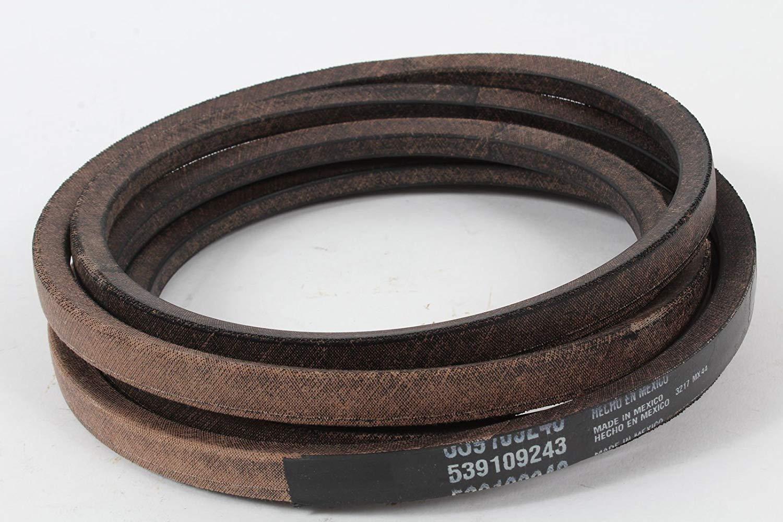 Amazon com : Husqvarna 539109243 Genuine Deck Belt Fits