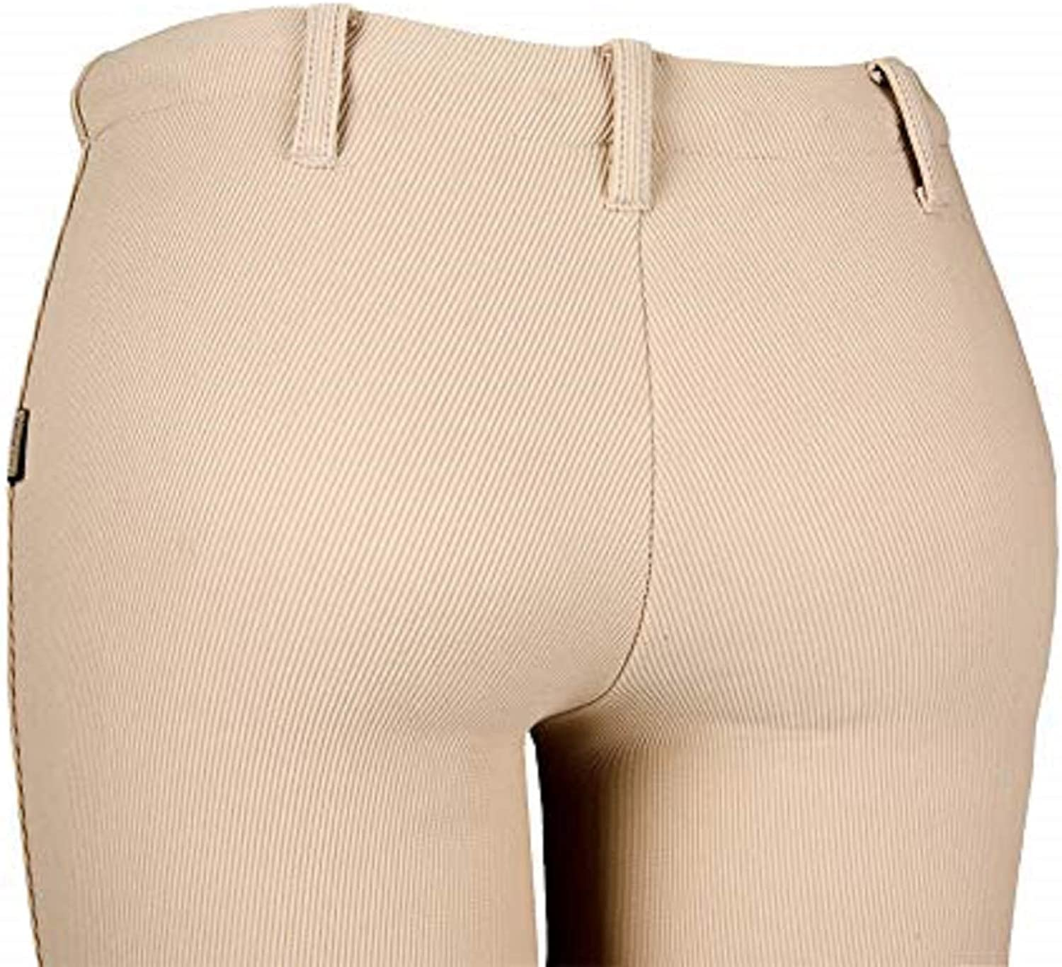 DEVON-AIRE Womens All-Pro Pull-On Beige Riding Breeches