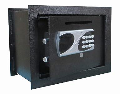 Caja Fuerte de Deposito Motorizada de Empotrar: Amazon.es ...