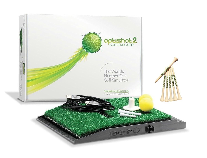 OptiShot (オプティショット) ゴルフシミュレーター 国内正規品 Optishot2 オリジナル ゴルフティー セット ゴルフスイング練習機 (1年間保証日本語説明書付) B07D1FQW6J