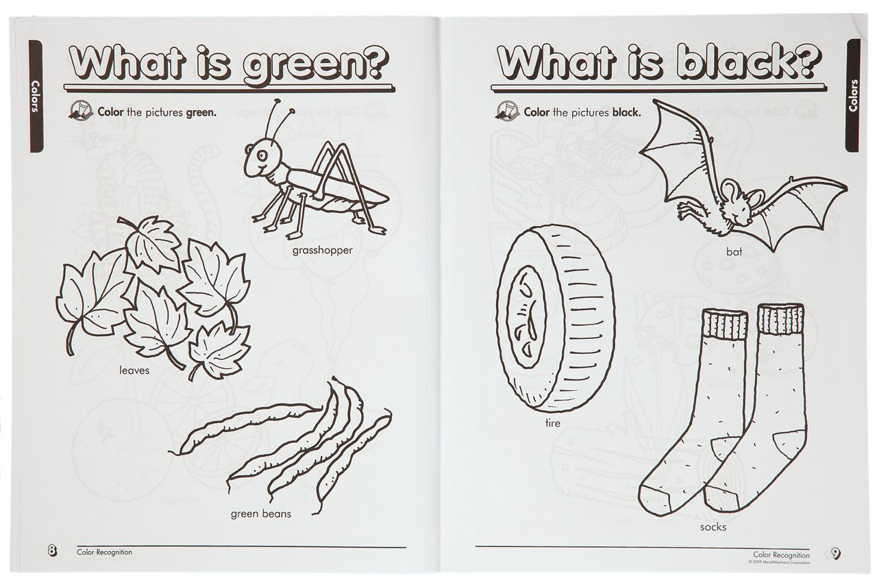 Mead Preschool Workbook, 10-7/8 x 8-3/8-Inches, 320 Pages (48054 ...