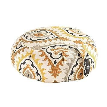 Amazon.com : Hugger Mugger Zafu Yoga Cushion - Fiery Sol ...