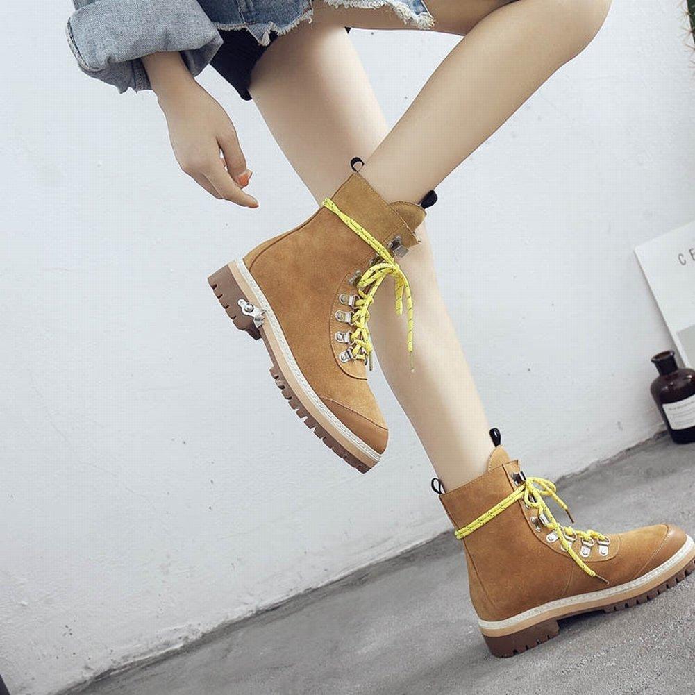Martin Stiefel Frauen Frauen Stiefel Flachen Boden mit Einem Matten Weichen Lederstiefel , schwarz , EUR37