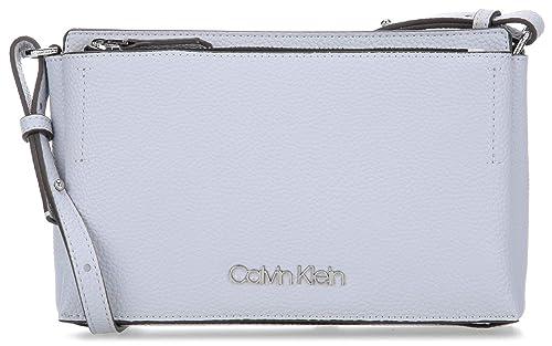 Calvin Klein Damen Sided Ew Crossbody Umhängetasche, Blau