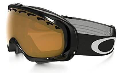 9c4e88a14f5 Oakley Unisex-Adult Crowbar Goggles (Jet Black