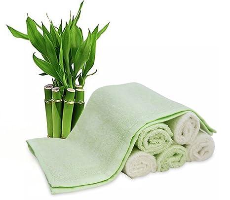 Bambú bebé Toallitas (6-Pack) – PREMIUM Extra suave y absorbente toallas para
