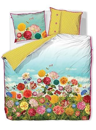 Pip Studio Pip Bettwäsche Wild Flowerland Multi 155x220 Cm 80x80