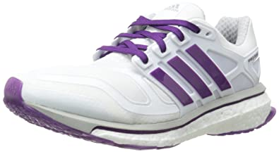 buy popular 234c3 4ba11 adidas Performance Women s Energy Boost 2 W Running Shoe, Pearl  Metallic Glow, 7
