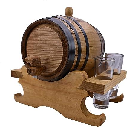 2 litros roble blanco americano Envejecimiento barril con ...