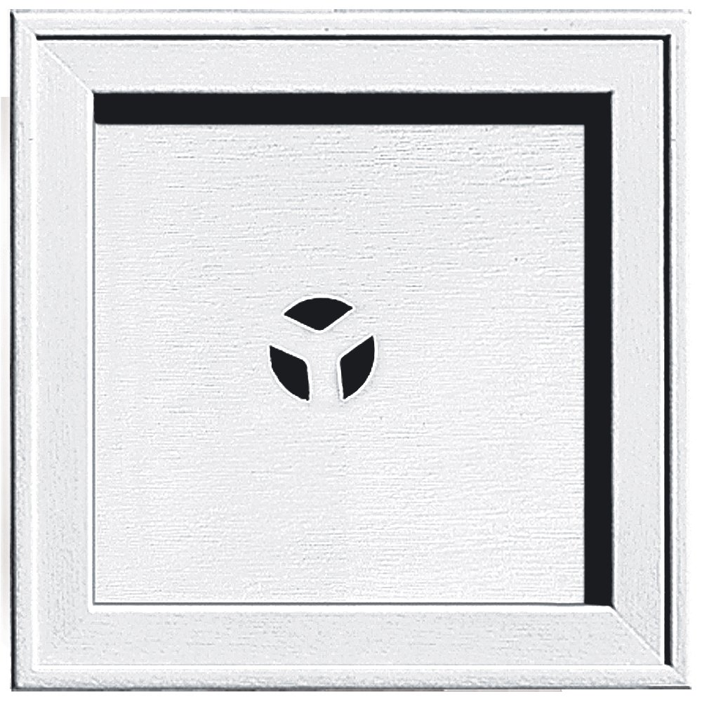 Builders Edge 130110004001 Mounting Block, White