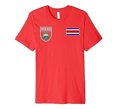 Mens Costa Rica Futbol Soccer Jersey Tshirt 2XL Red