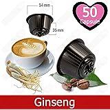 Caffè Kickkick al Ginseng 50 Capsule Compatibili Nescafè Dolce Gusto