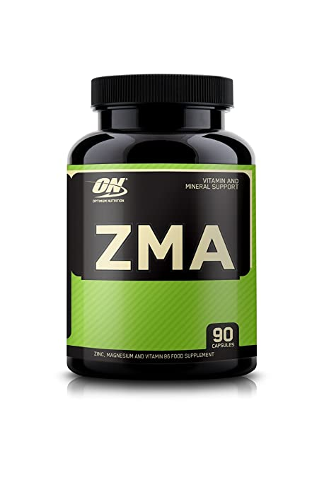 Optimum Nutrition Zma Minerales de Magnesio - 90 Cápsulas