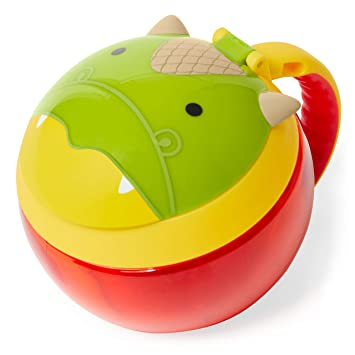 a9d2b5bb8063 Skip Hop Toddler Snack Cup, Dragon
