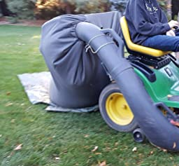 Amazon Com Lawn Tractor Leaf Bag Never Rake Again