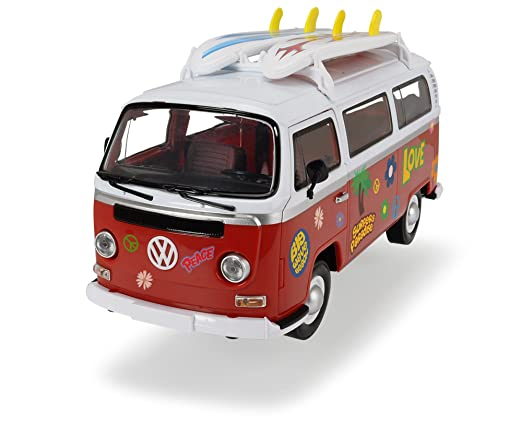 Dickie Toys 203776001 Surfer Van, Parte zeugvan con Motor de fricción, 32 cm, 1: 14: Amazon.es: Juguetes y juegos