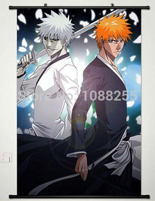 Poster Bleach Kurosaki ichigo Japan Anime Boy Room Wall Cloth Print 20