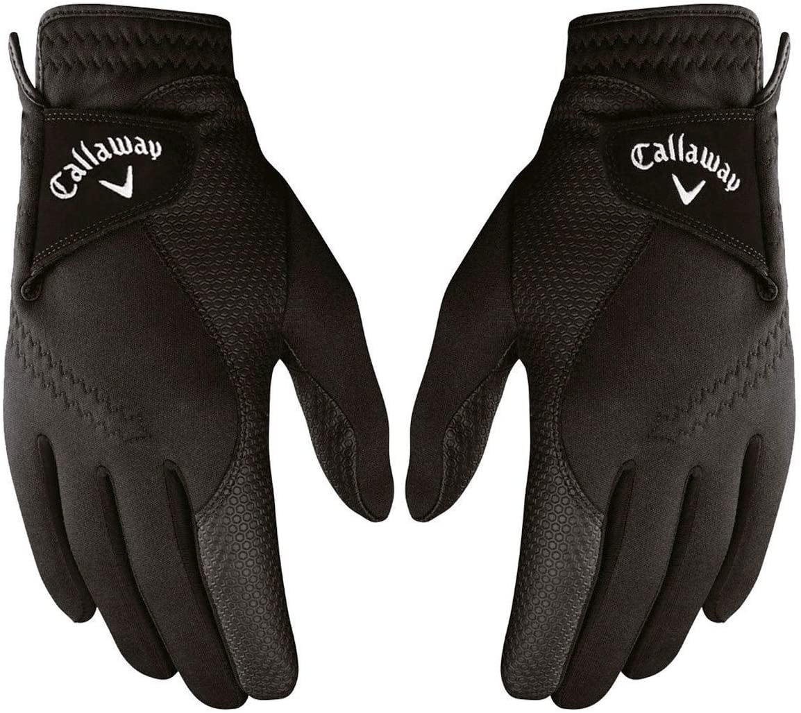 golf gloves 2019 Callaway Thermal Grip Winter 1 Pair- Left Right with Optimal Warmth Technology Men s ML