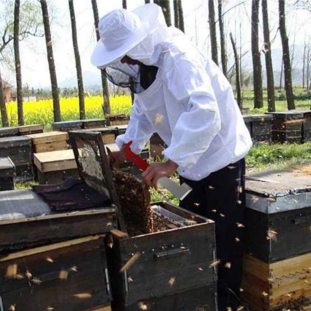 MH Imkerwerkzeuge Honigmesser Bienen Edelstahl Schaber Bienenenzucht Ausr/üstung 1 St/ück