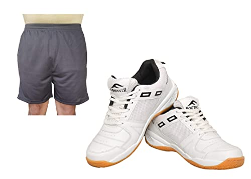 Gym, Badminton Sports Shoes with Free