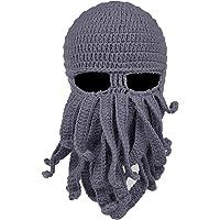 NYKKOLA Multifunctional Headwear Head Wrap Neck Balaclava & Sport Scarf -12 in 1 Headband Sweatband Knit Octopus Hat for…