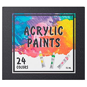 BELURSUS Set 24 Colors Acrylic Paint