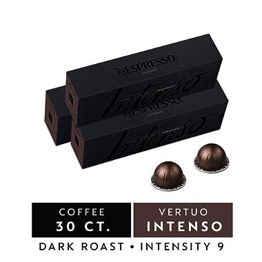Nespresso VertuoLine Capsules, Intenso Nespresso Pods, 7.8 OZ  Nespresso Coffee