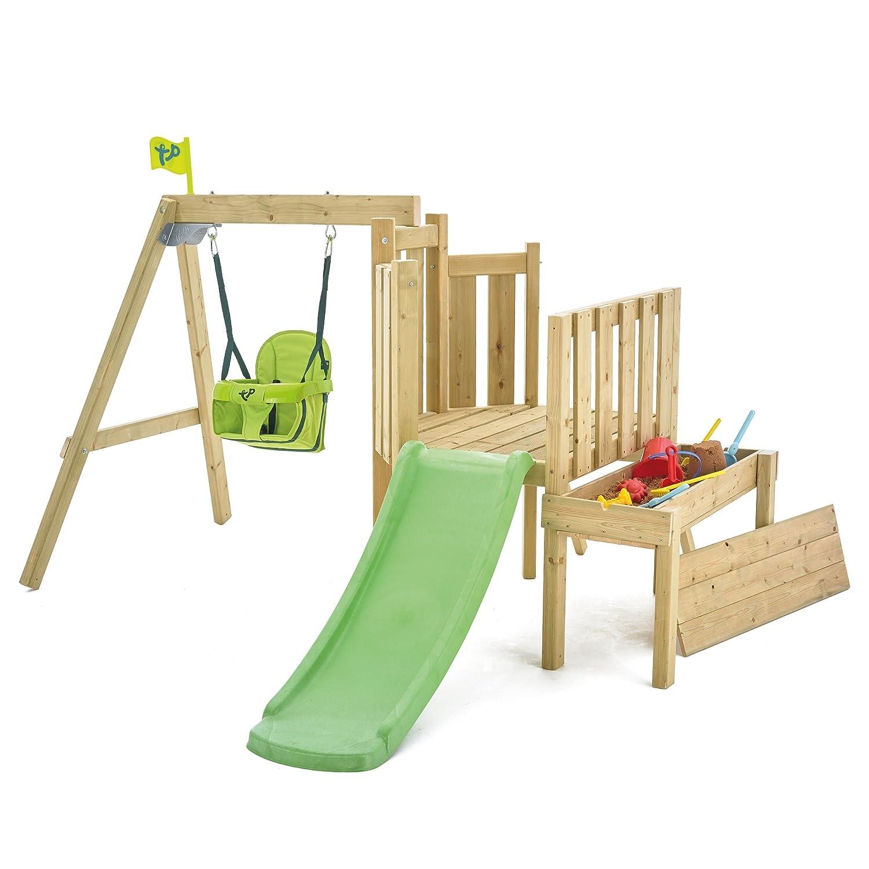 TP Forest Kleinkinder Schaukel aus Holz Set & Slide: Amazon.de ...