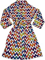 Fancy Girlz - Big Girls Long Sleeve Plush Robe