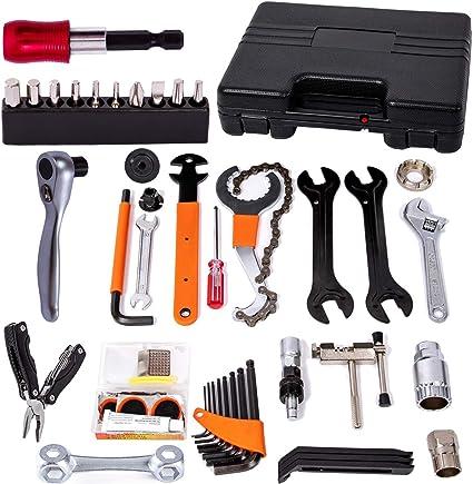Multi-Function Bike Bicycle Repair Kit Set Home//Outdoor Cycling Mechanic Tools