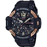 Casio  Men's GA1100RG-1A G-Shock Gravitymaster Black and Rose Gold-Tone Watch