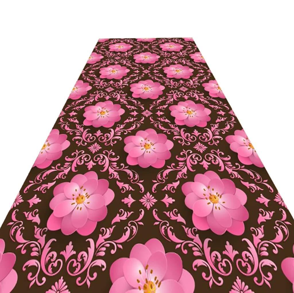 ランナー/カーペット、廊下滑り止めカーペット長方形の厚さ0.6 cm (サイズ さいず : 120CM*8M) 120CM*8M  B07QDS5YZ5
