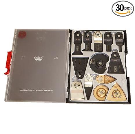 30 x TopsTools SW_UNK30 OMT Mix Blades Box Set for Bosch