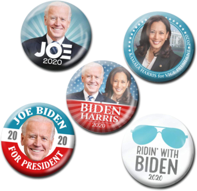 21 pinbacks 2020 PRESIDENTIAL ELECTION DEMOCRATIC CANDIDATES BUTTON SET
